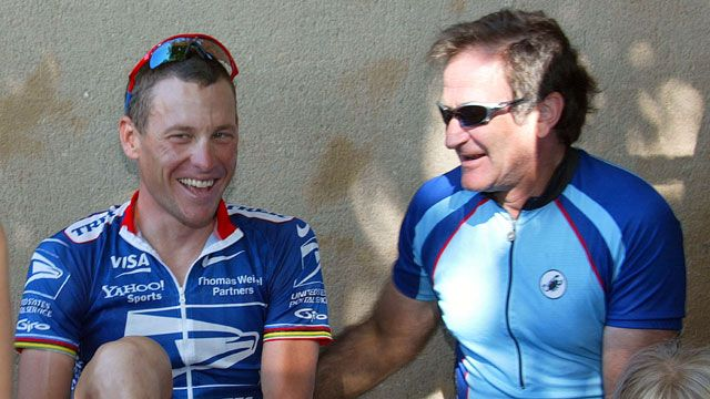 Robin Williams -- His passion for cycling | Robin williams ...