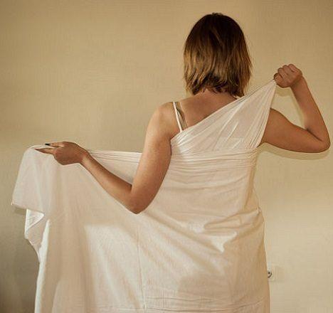 Como hacer un vestido griego largo