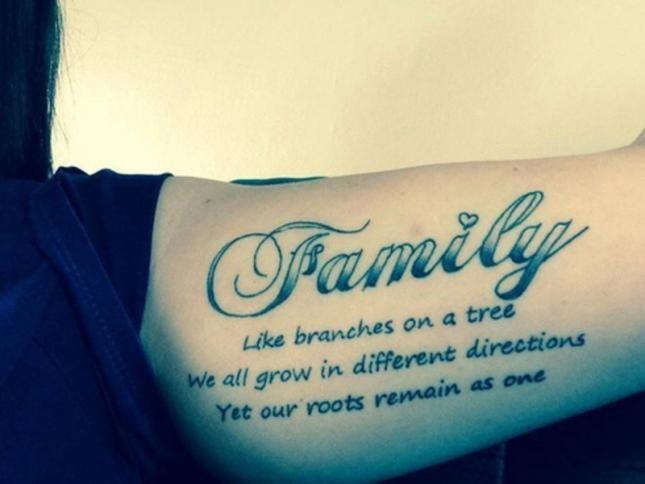 Tatuajes Con Significado De Familia Decoración Tatuajes Con