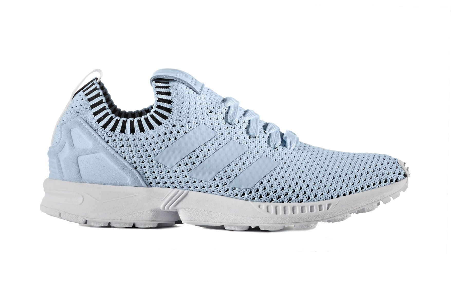 f62b56321 ... top quality adidas drops a baby blue zx flux sneaker with primeknit  9b763 5890a