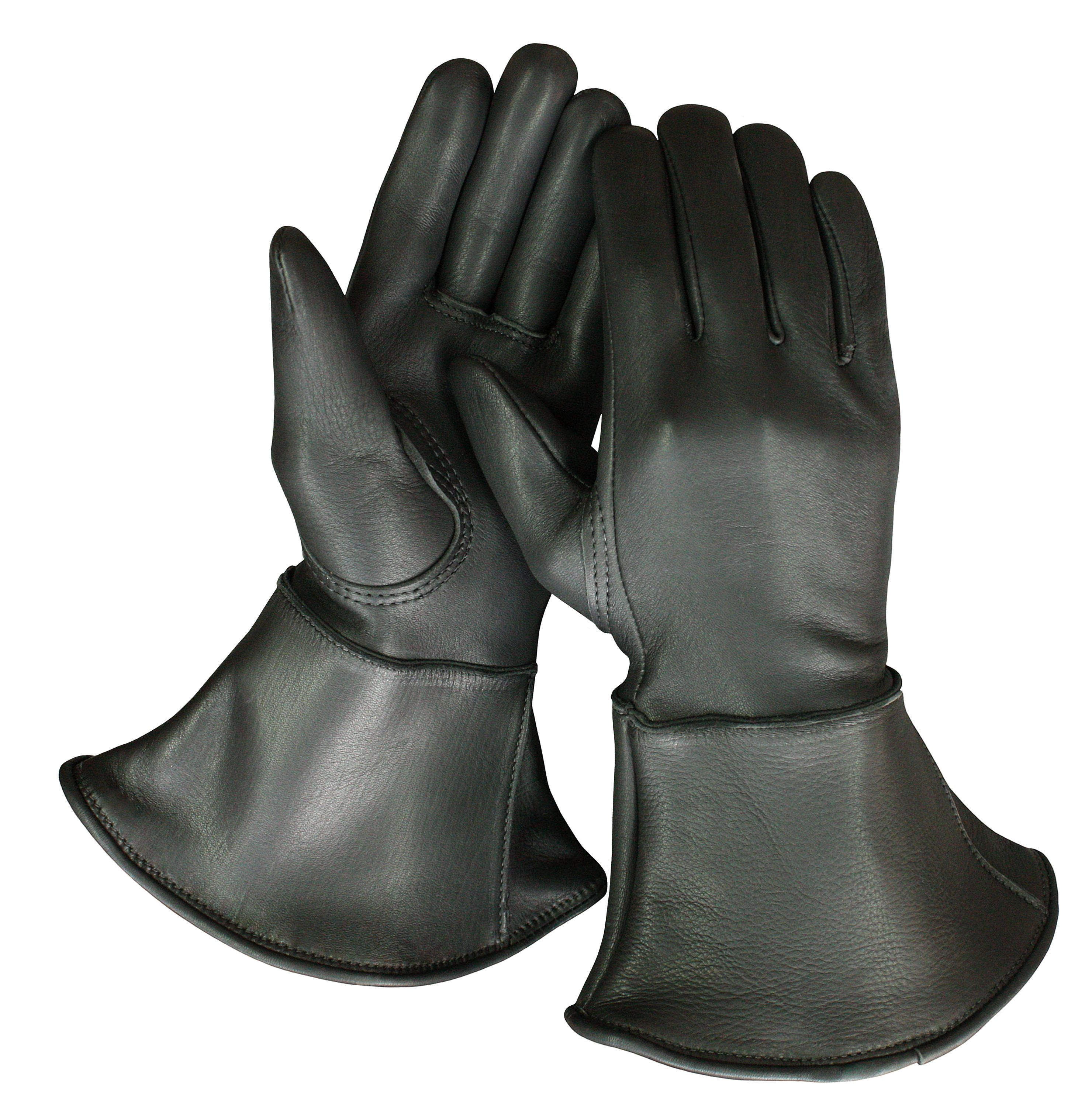 Motorcycle gloves deerskin - Churchill Deerskin 4 Inch Gauntlet Gloves Made In The Usa For Over 100 Years Check Them Motorcycle