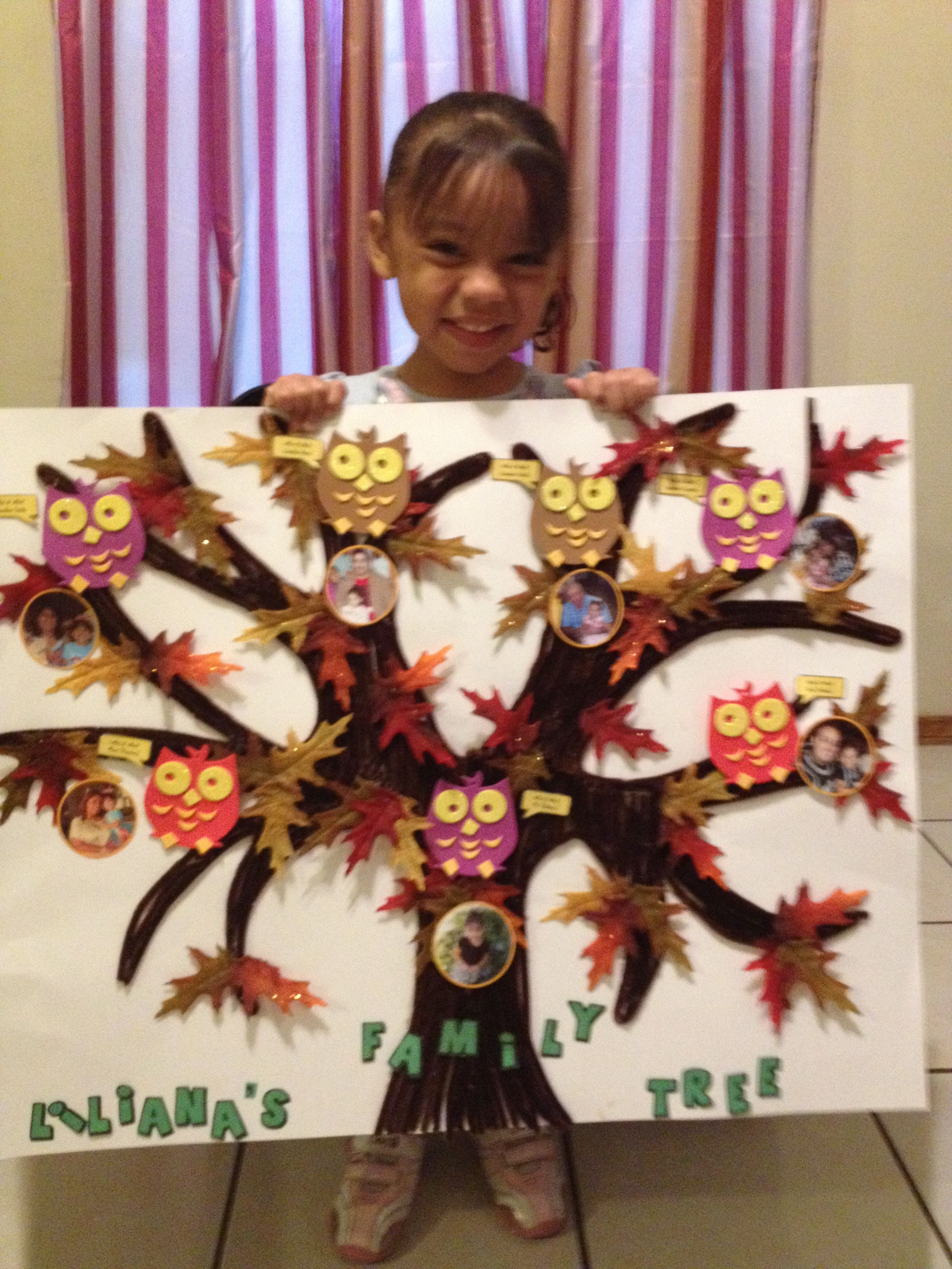 How to scrapbook family tree - Family Tree Project