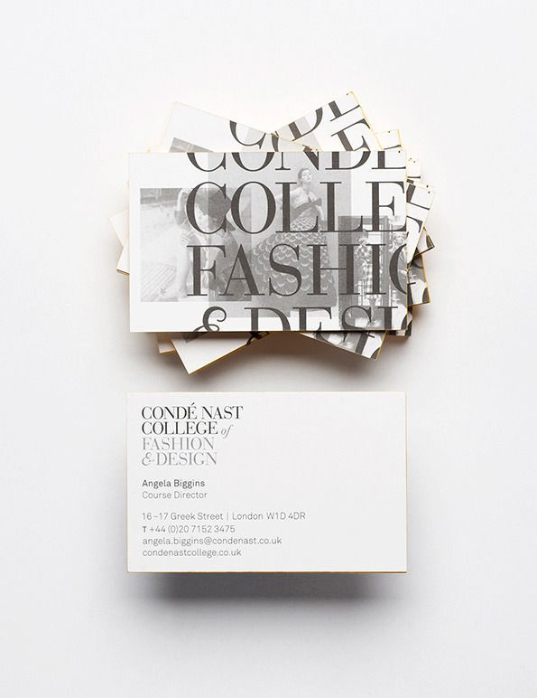 Nae design together design sleek minimal and timeless visual cond nast college of fashion design has engaged together design to create its visual identity printed materials and signage ahead of its official reheart Image collections