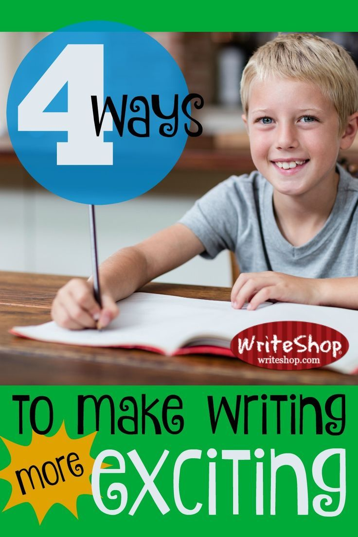 Great ways to make writing more exciting! Stimulate writing ideas through appealing books, colorful curriculum, engaging writing prompts, and fun publishing projects.
