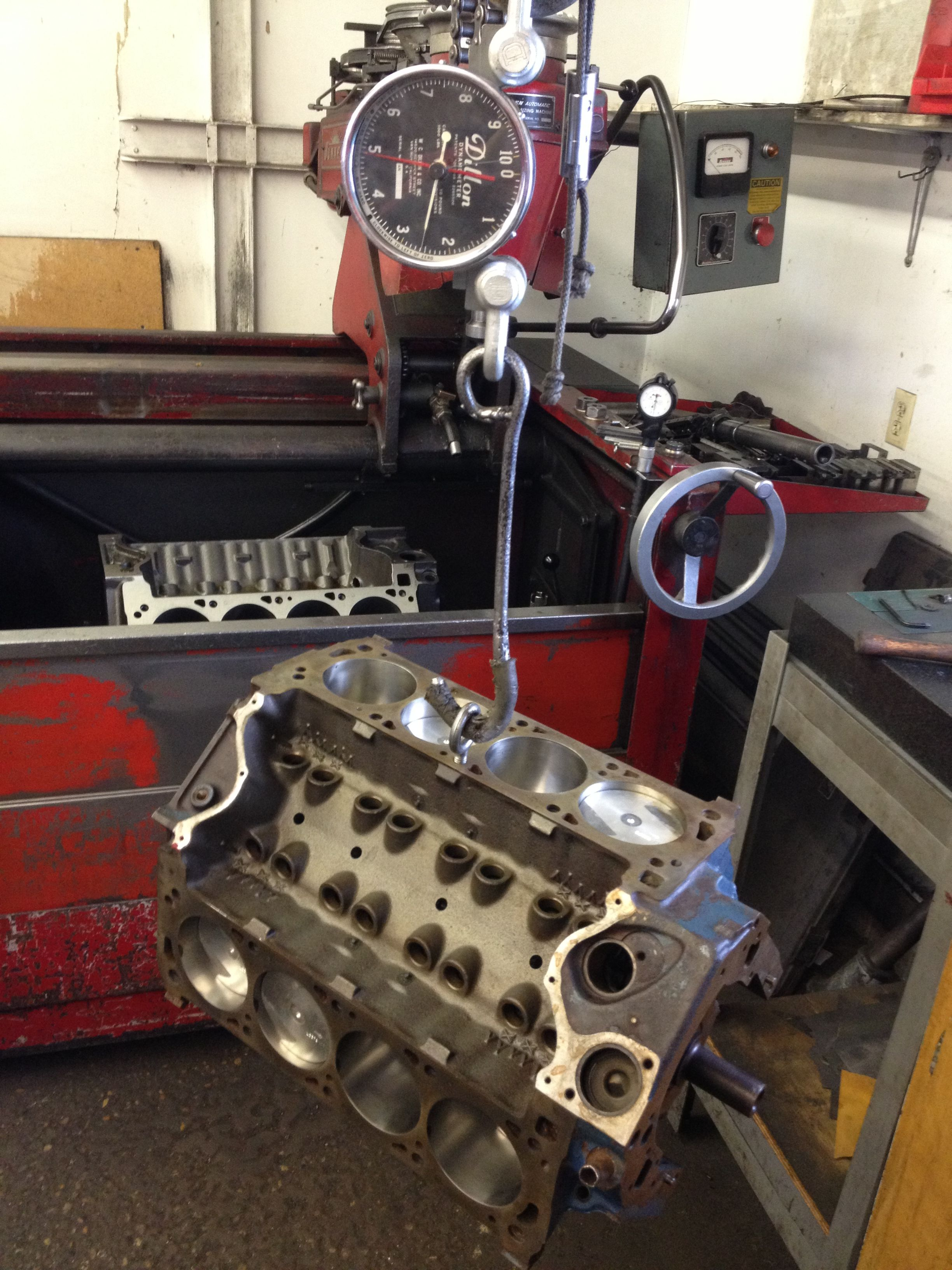 351 Cleveland short block with forged pistons and stock