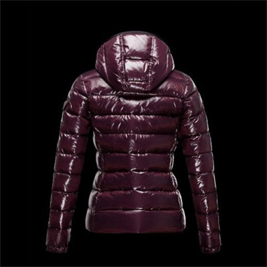blouson simili cuir femme, achat Moncler Femme pas chère BADY Violet, manteau  hiver femme 6db4acc70bc