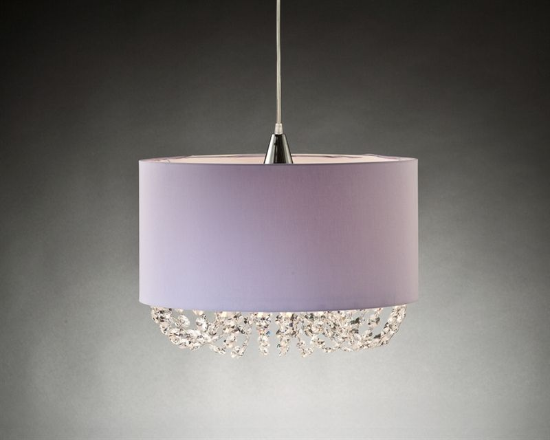 lilac crystal chandelier - Google Search