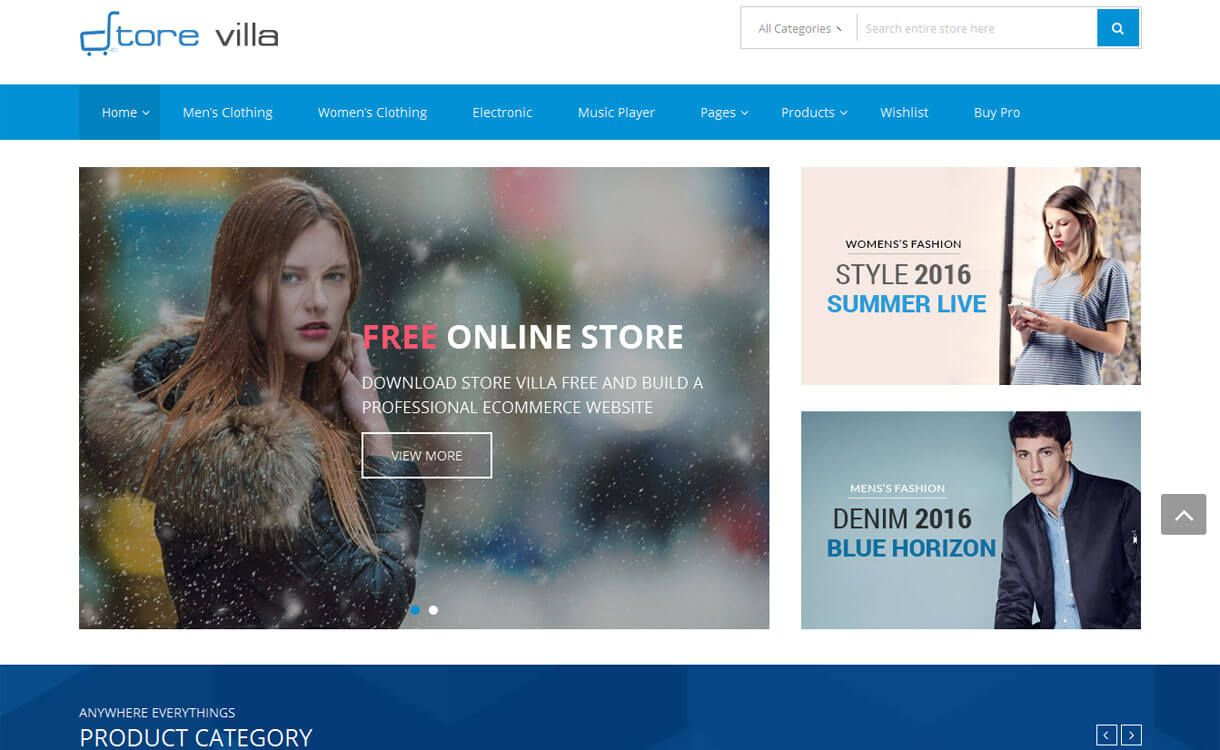 Best Home Page 2020.30 Best Free Wordpress Ecommerce Woocommerce Themes For
