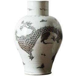 Vintage Modern Chinese Jar from HW Home