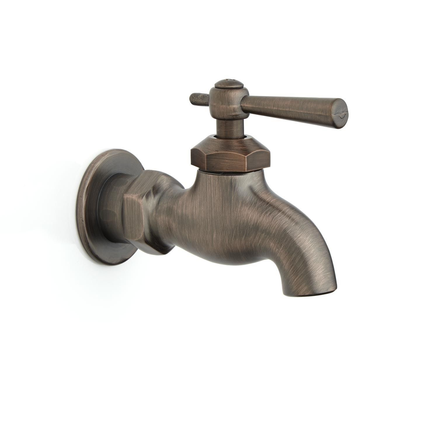 Single Wall-Mount Faucet with Lever Handle | Bathroom ideas ...