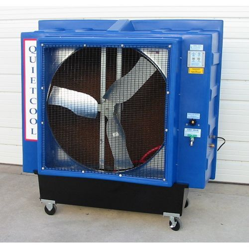 36 Evaporative Patio Cooler Direct Drive One Speed And 1 2 Hp Evaporative Cooler Evaporative Coolers Portable Air Conditioners