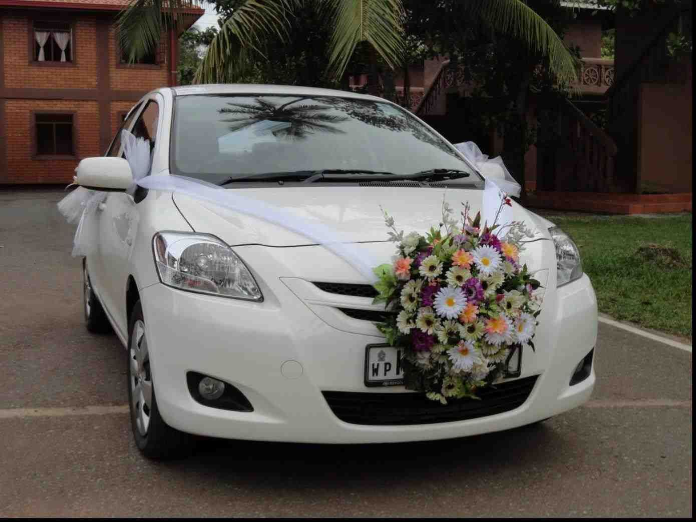 New Post Indian Marriage Flower Decoration Car Has Been Published