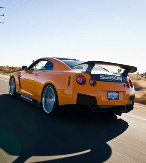 """Orange Crush"" Nissan GT-R. Find Out Your #dreamcar Crush"