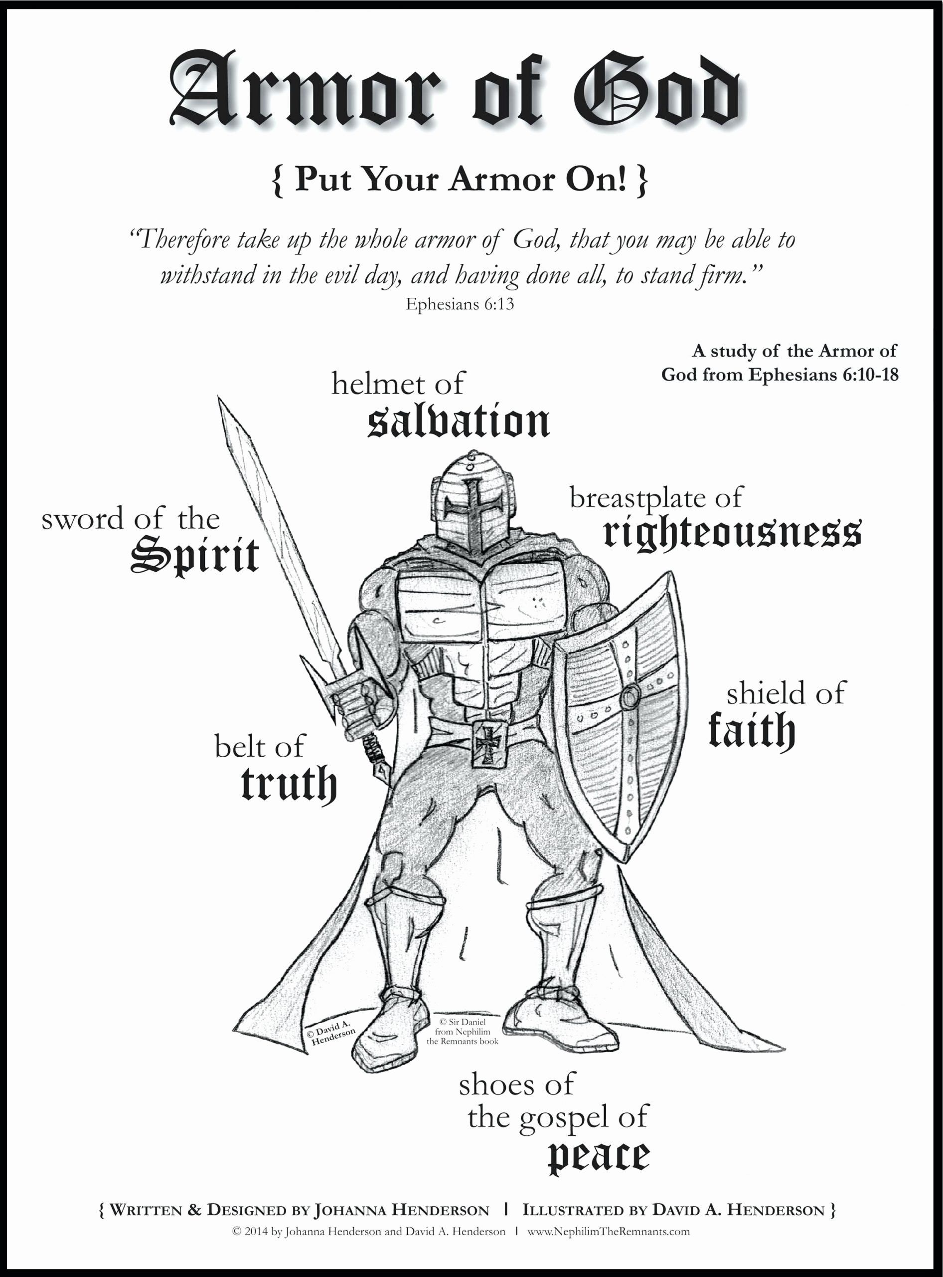 Armor Of God Printable Coloring Page Fresh Whole Armour Of God Coloring Pages Allenfinesse Bible Study For Kids Bible Study Armor Of God