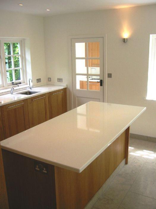 White crackle glaze lavastone kitchen countertops paired ...