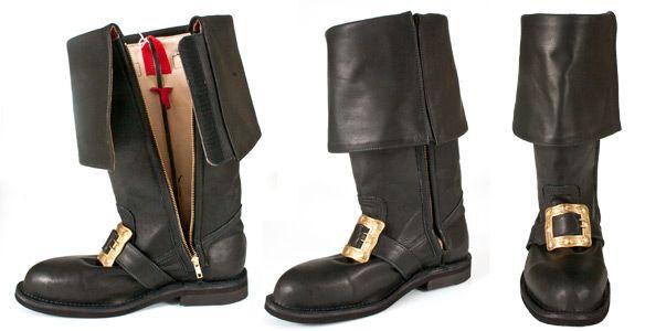 7d06d79eb78e Custom Made Leather Santa Boots