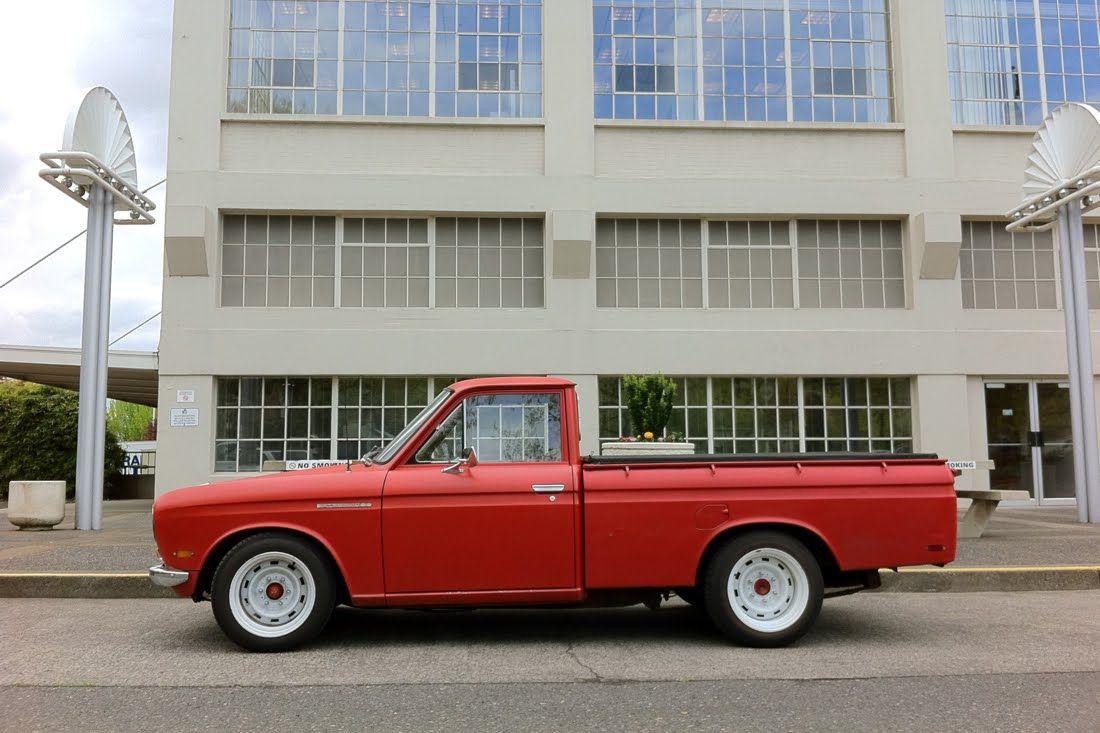 Datsun 521 W Chevy Truck Wheels Vehicools Pinterest