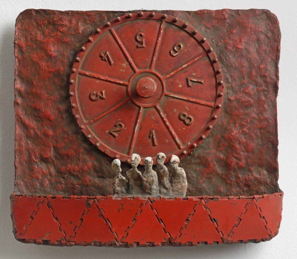 Lottery. Bas reliefs - Gérard Cambon