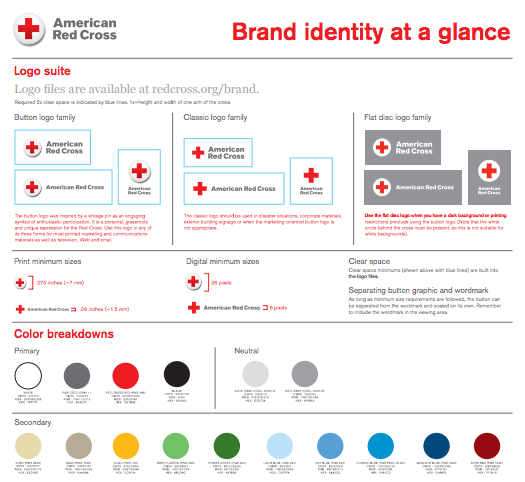 Red Cross Brand Guidelines Brand Book Brand Guidelines Style Guides