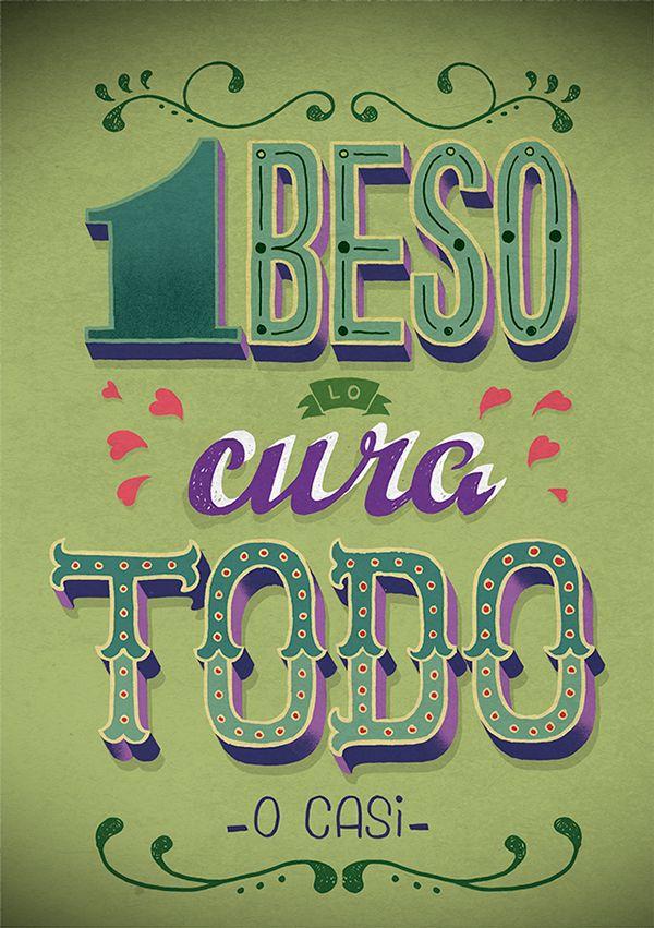 un, dos, tres, cuatro, cinco by Zen Martín, via Behance