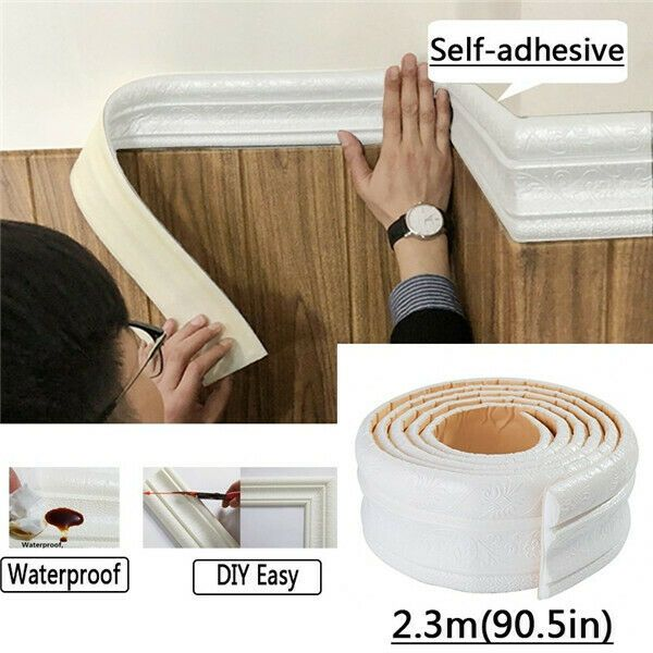 Details about 3D Selfadhesive Waterproof Pattern Wallpaper