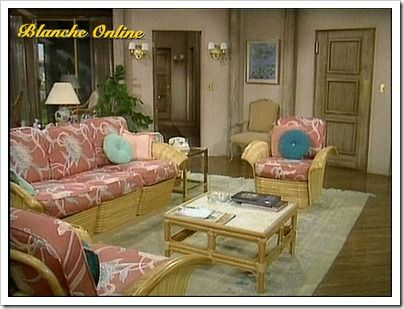 Golden girls living room is so cozy favorite places - Rooms to go living room set with tv ...