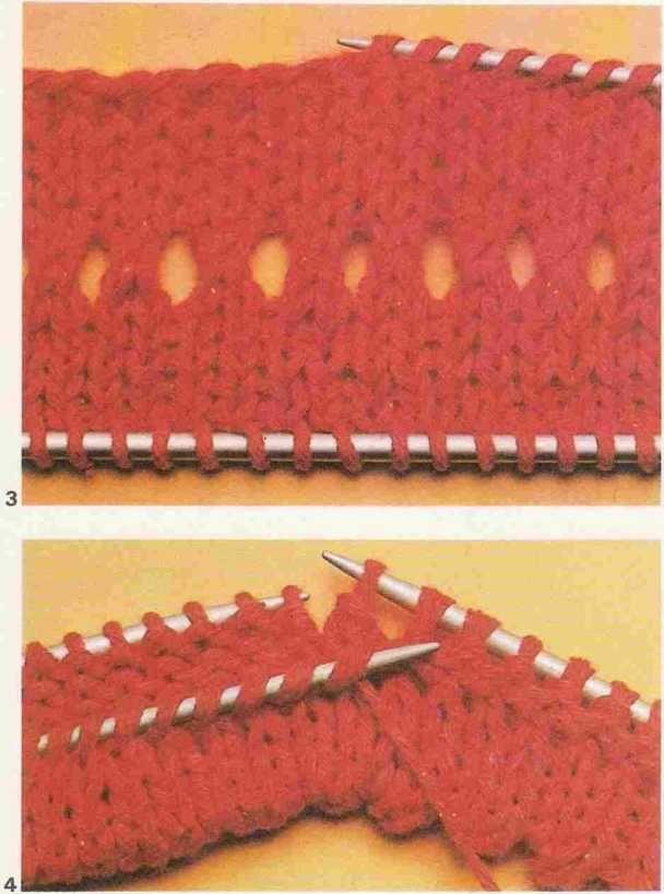 Tricot e Croche Passo a Passo Receitas: Como fazer: A barra dupla ...