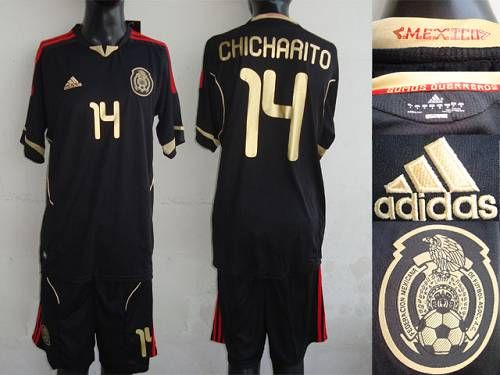 Mexico 14 Chicharito 2011 2012 Black Away Soccer Country Jersey Only 20 50usd Jersey Soccer Football Kits