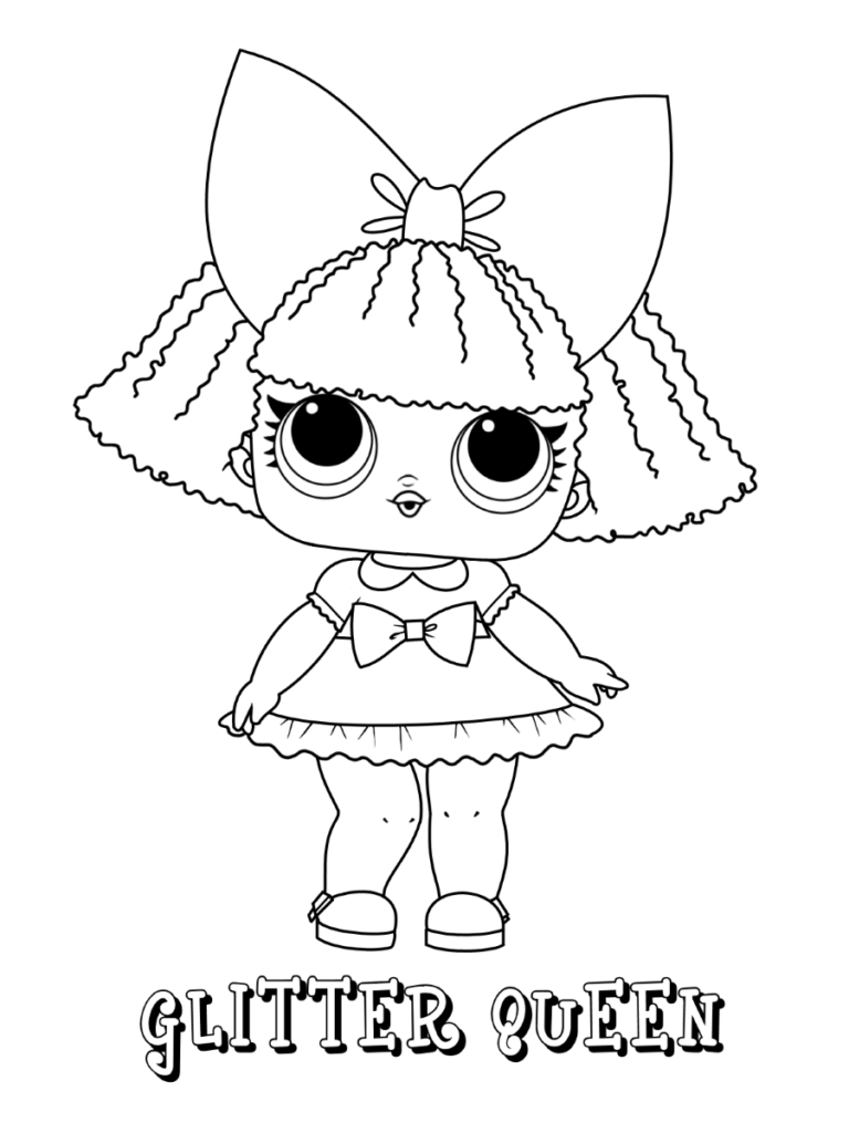 Lol Surprise Coloring Pages Print And Color Com In 2021 Bee Coloring Pages Unicorn Coloring Pages Cute Coloring Pages