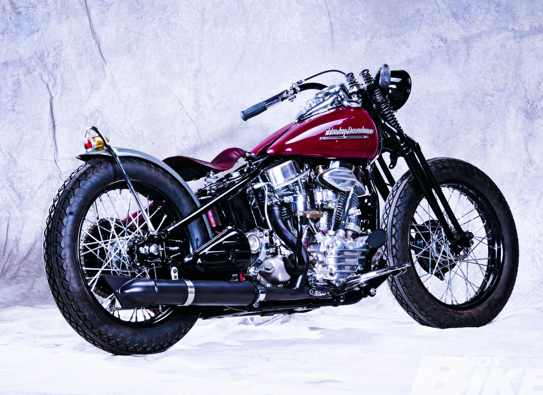 The Perfect 1953 Harley Davidson FL Panhead from Craigslist to