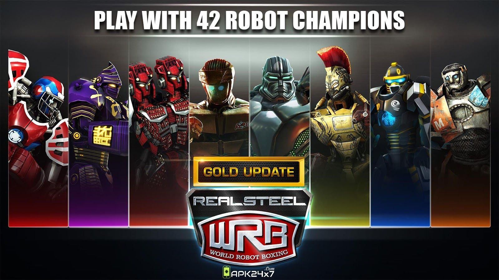 Real Steel World Robot Boxing v34.34.984 Mod APK + Data
