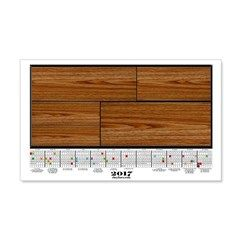 2017 Calendar Pine Planks Wall Decal  More than 100 to choose from.  Follow this link   http://www.cafepress.com/cheylines/14087576