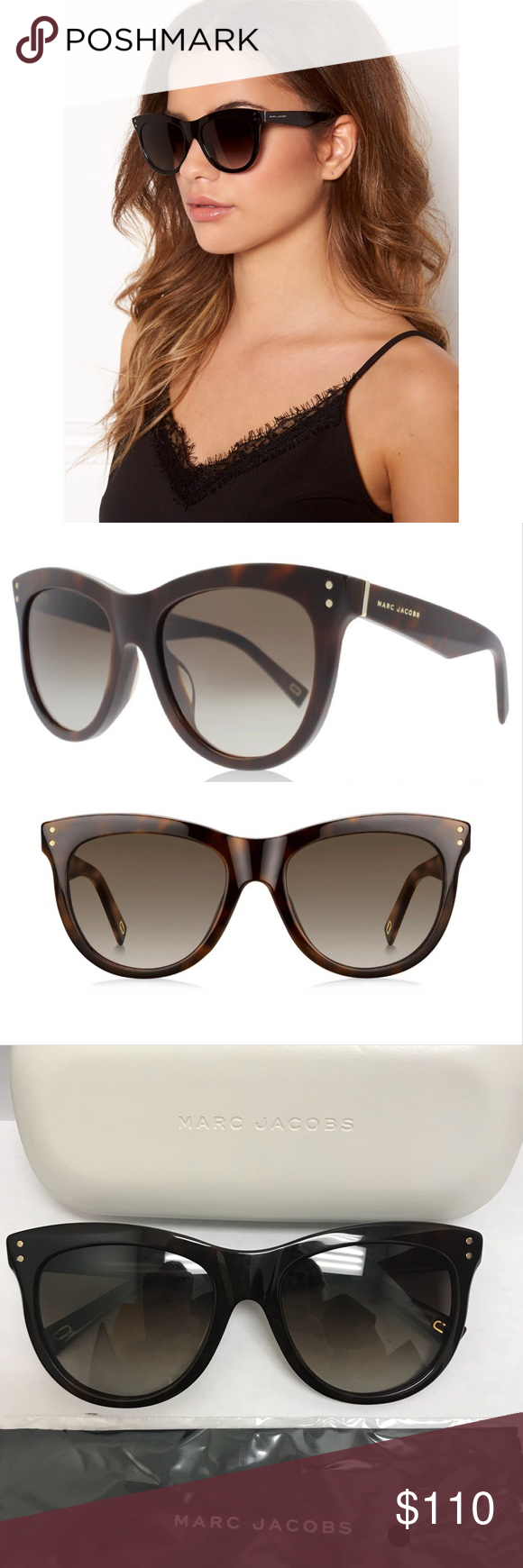0d6da829db80 Marc Jacobs Sunglasses New. Never worn. Perfect condition. Were on display  at an