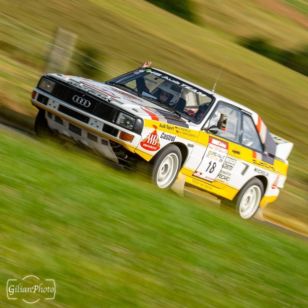 Another one of the 1985 Audi Quattro S1 Group B rally car