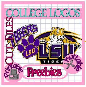 The Scrapoholic : 25 Days of College Logos Cut File Freebies!