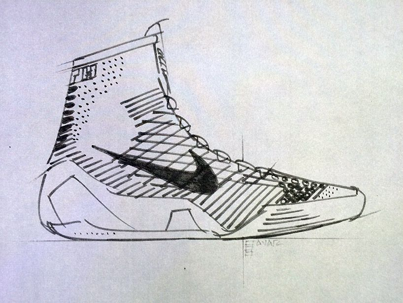 7c02dd50907 KOBE 9 elite flyknit high-top basketball shoe by NIKE   Footwear ...