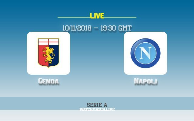 Genoa Vs Napoli Live Stream TV Channel Online Tv Channels