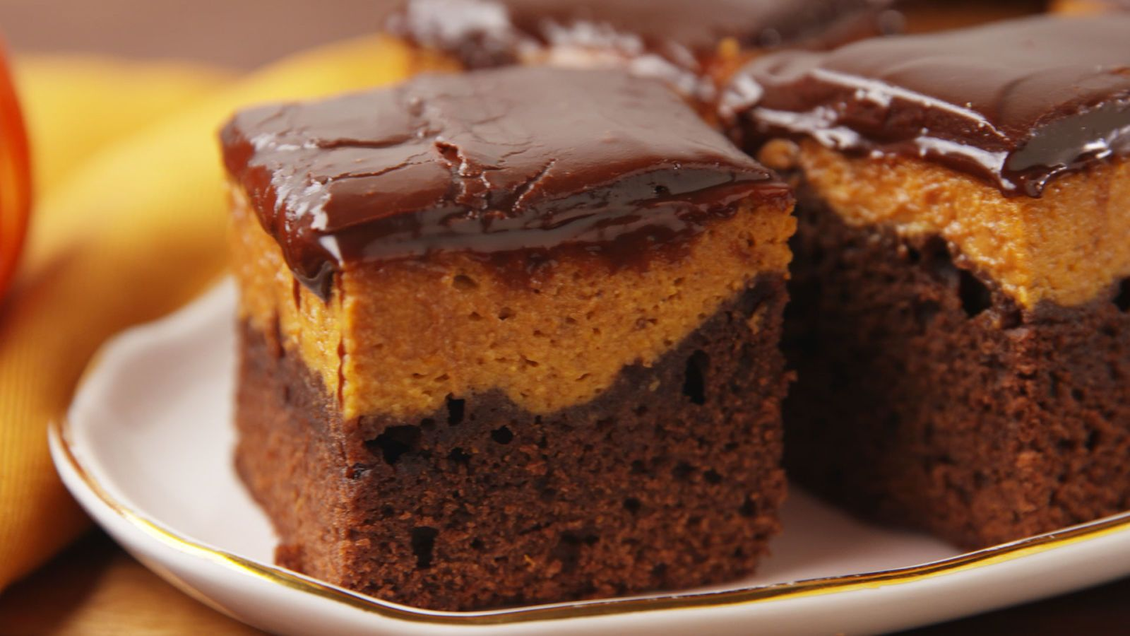 Pumpkin Pie Brownies Recipe With Images Brownie Recipes