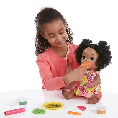 Baby Alive Super Snacks Snackin Sara African American Baby Alive Doll Food Baby Alive Dolls