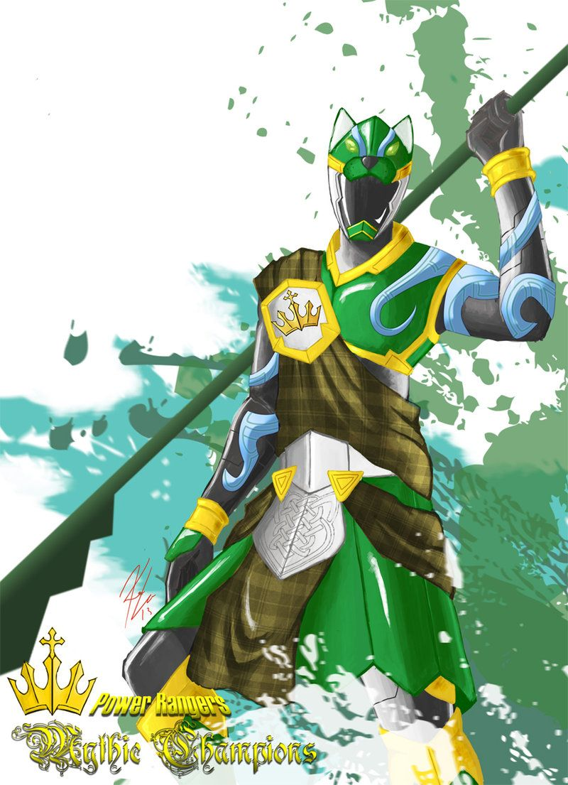 0e77d951ee7d9 Power Rangers  Mythic Champions Green Hound by the-newKid.deviantart.com on   deviantART