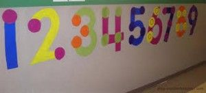 classroom wall number activities for preschool (18)