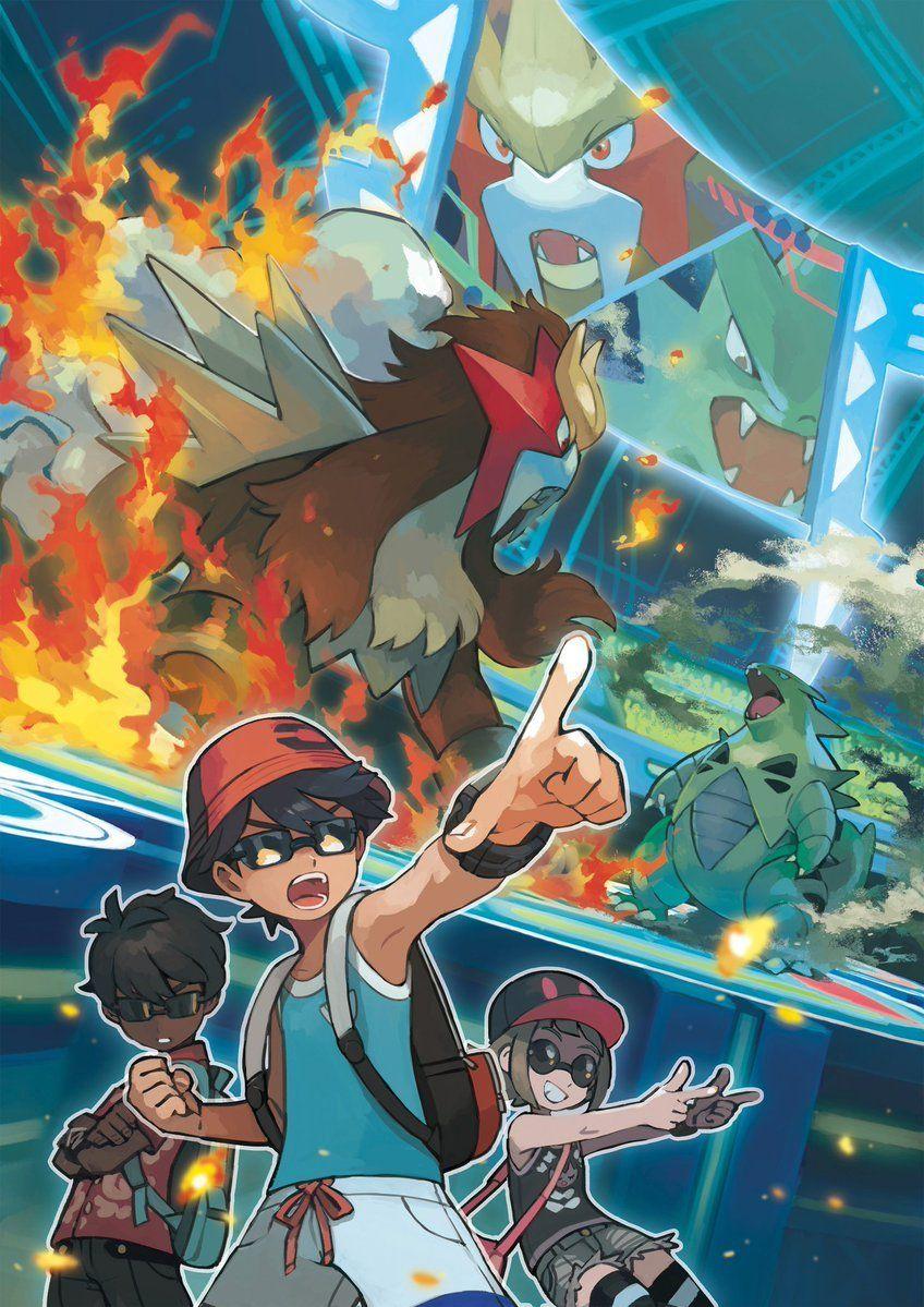 Pokemon Battle Agency Artwork Pokemon, Pokemon tumblr, Anime