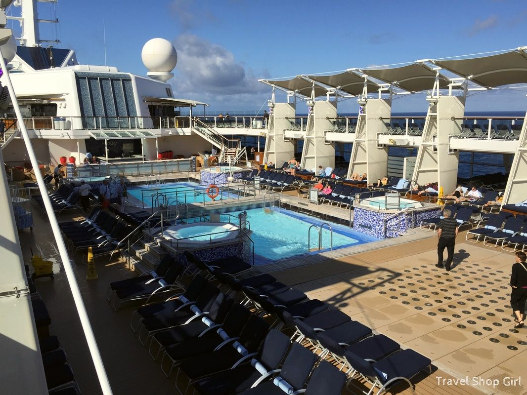 Sea Day On The Celebrity Solstice Sunrise With A Latte Cruise