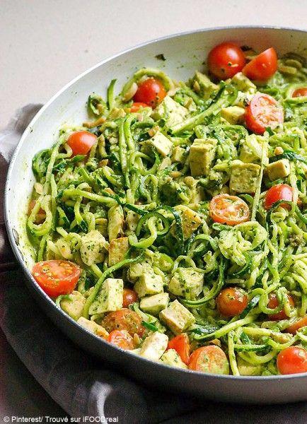 Courgette spaghetti comment agr menter des spaghetti de courgette elle table recettes - Comment cuisiner courgette spaghetti ...
