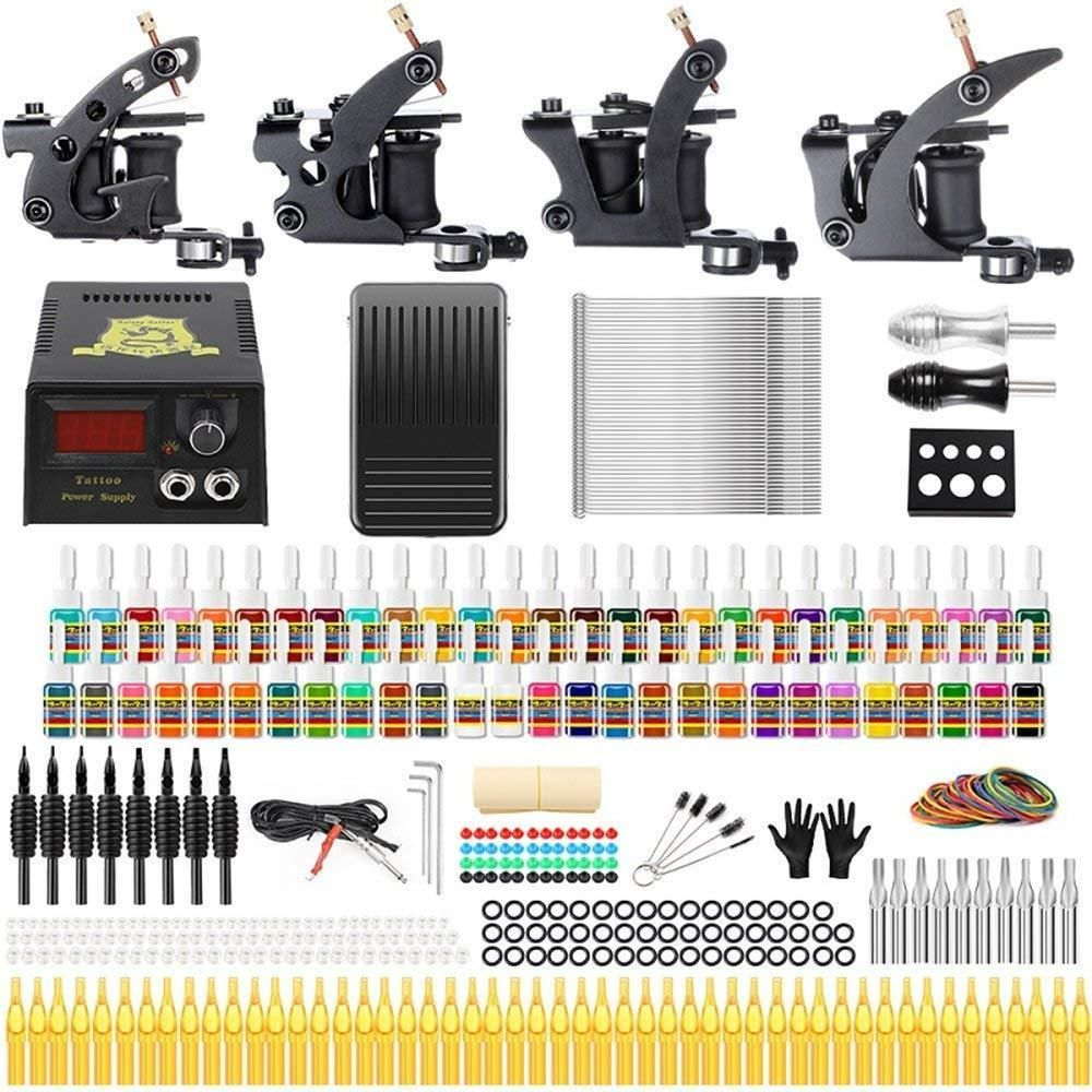 Details about Solong Tattoo Complete Tattoo Kit 4 Pro Machine Guns ...