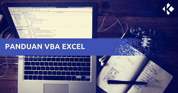Tutorial Macro Vba Excel Indonesia Microsoft Excel Latihan Indonesia