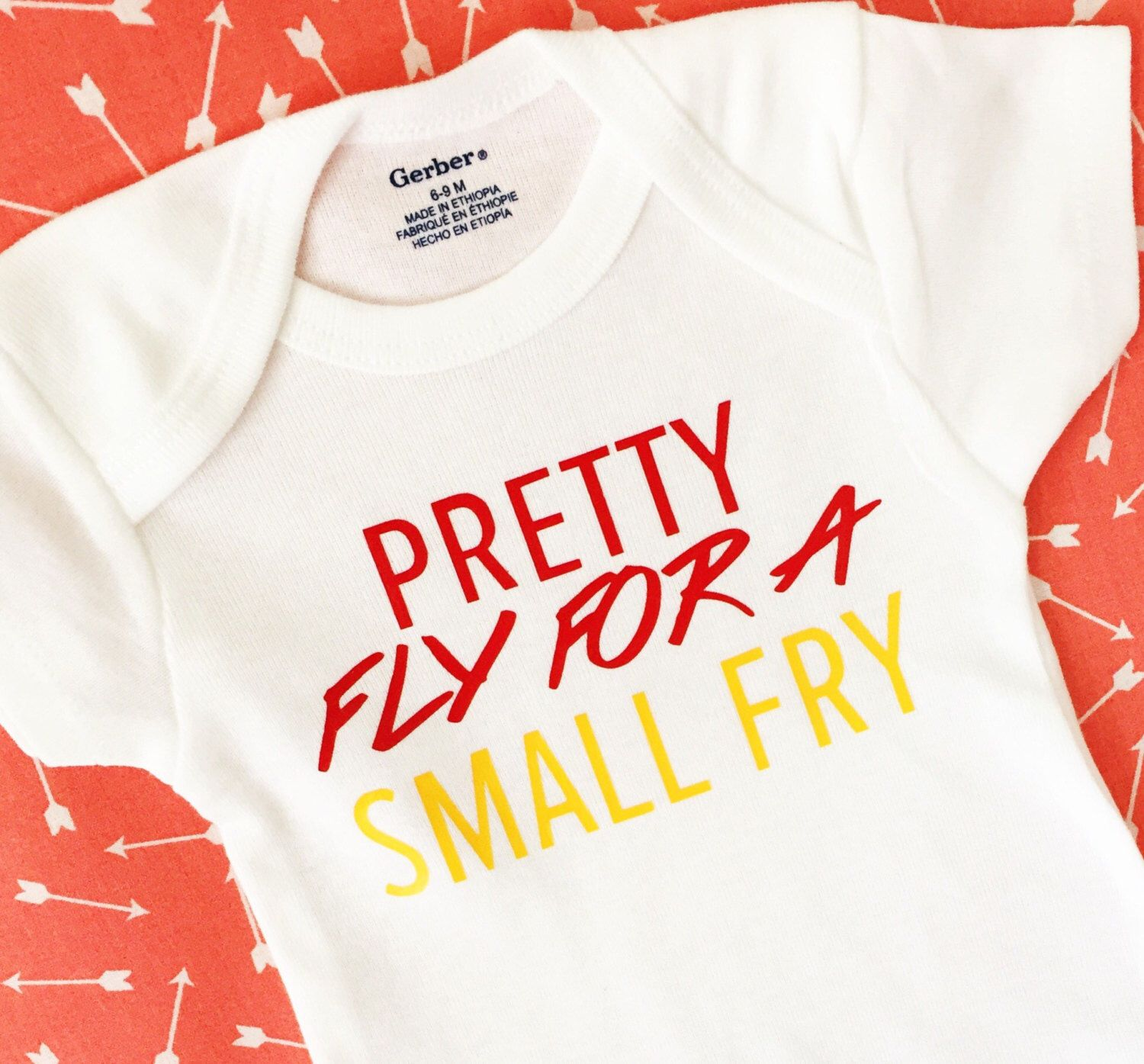 Pretty Fly For A Small Fry esie Funny Baby esie Gender Neutral