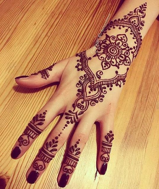 31 Unique Henna Tattoos For Women Pop Tattoo Henna Henna
