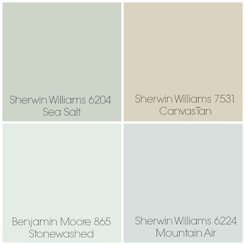 Finalized the paint colors for our home sea salt entry Paint colors that go with beige