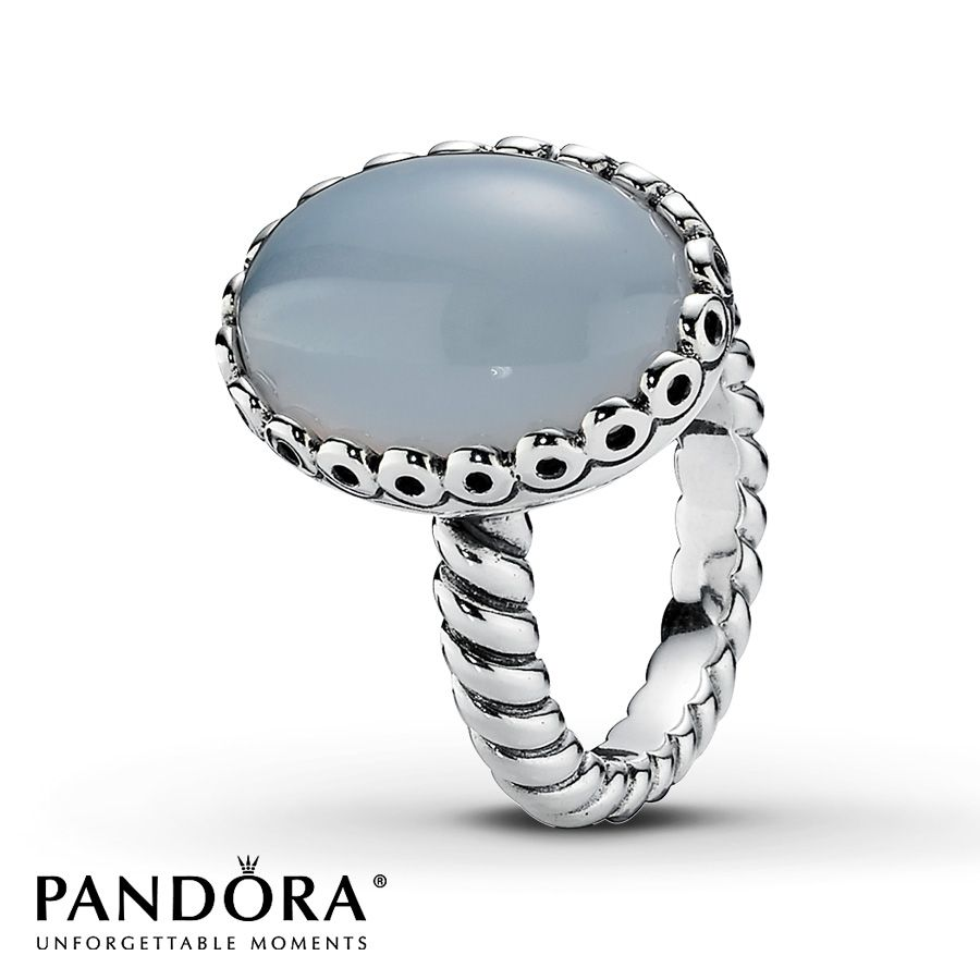 Jared Pandora Ring Chalcedony Sterling Silver My Style